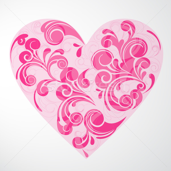 Vector Valentine's Background Stock photo © RamonaKaulitzki