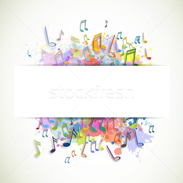 Stock photo: Vector Music Background