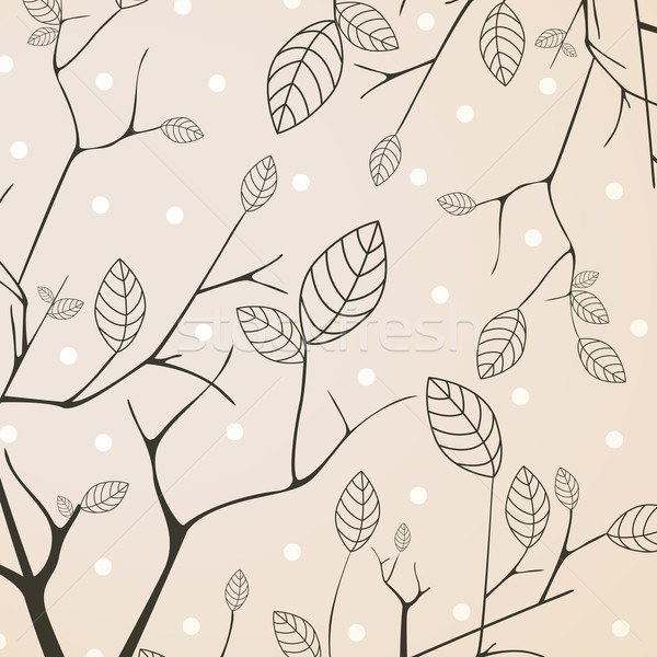 декоративный вектора природы лист саду искусства Сток-фото © RamonaKaulitzki