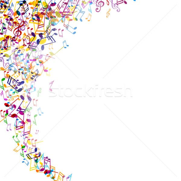 аннотация вектора красочный искусства радуга звездой Сток-фото © RamonaKaulitzki