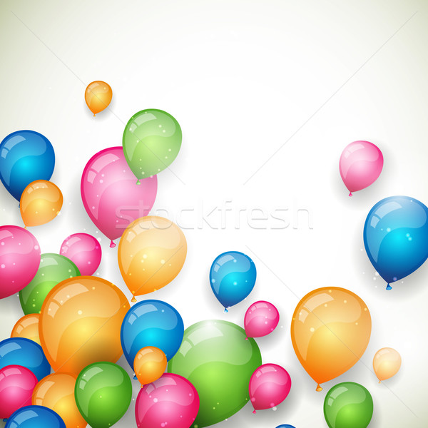 Vector Balloons Stock photo © RamonaKaulitzki