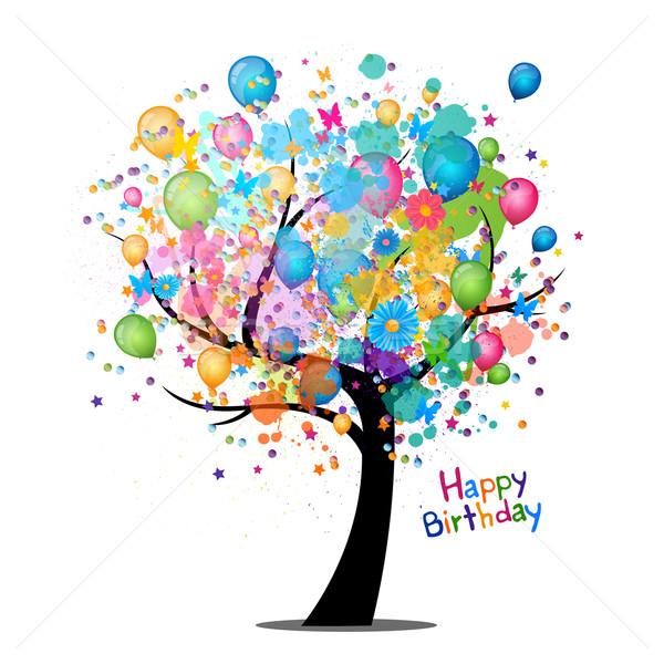 Клипарт открытка с днем рождения