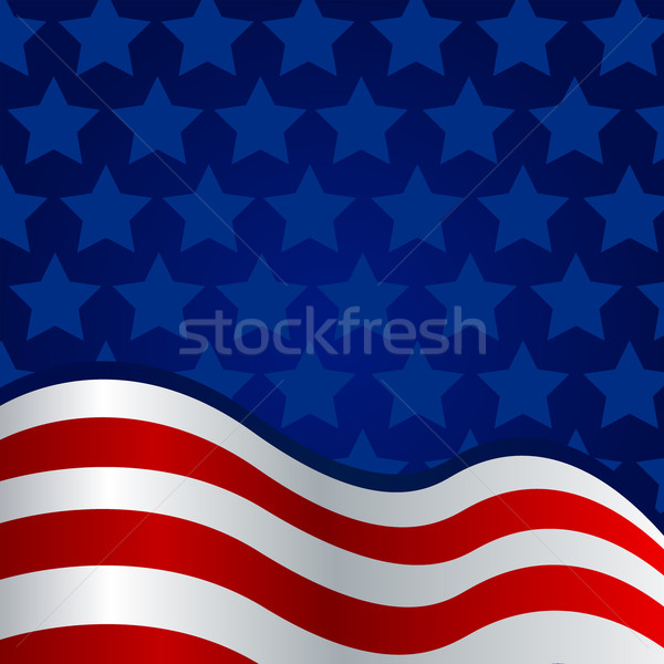 Vector Independence Day Background Stock photo © RamonaKaulitzki