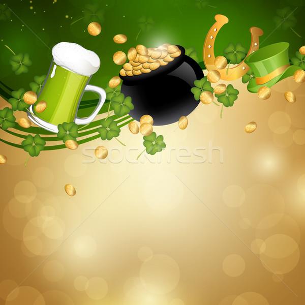 Vector  Saint Patrick's Day Background Stock photo © RamonaKaulitzki