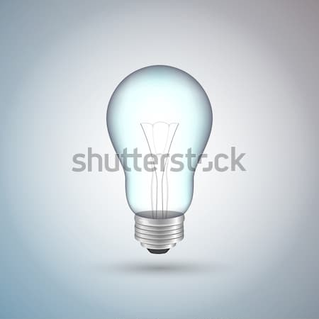 Vector Light Bulb Stock photo © RamonaKaulitzki