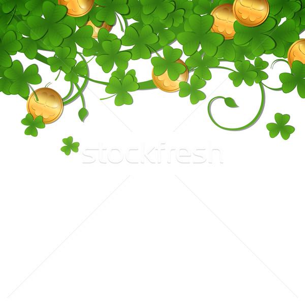 Vector St. Patrick's Day Background Stock photo © RamonaKaulitzki