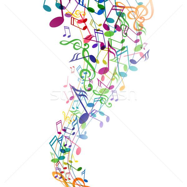 Vector Music Background Stock photo © RamonaKaulitzki