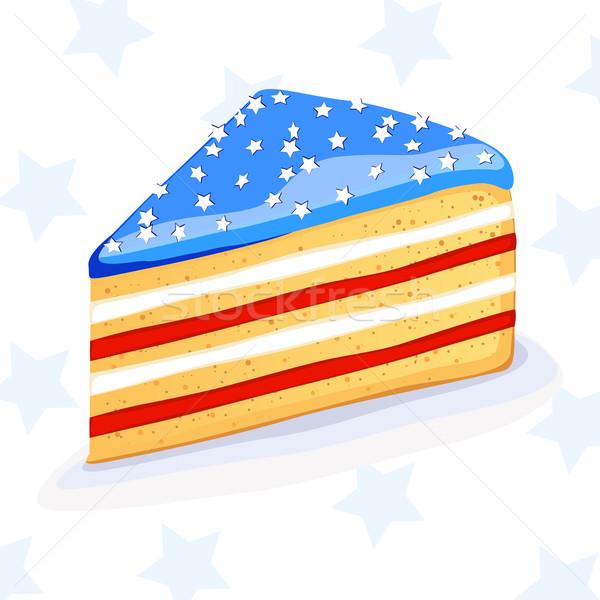 Vector American Cake Stock photo © RamonaKaulitzki