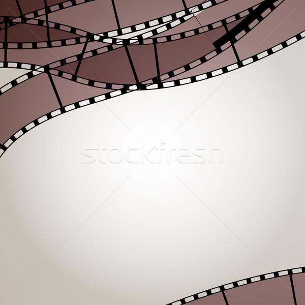 Vektör filmler fotoğraf video dizayn çerçeve Stok fotoğraf © RamonaKaulitzki