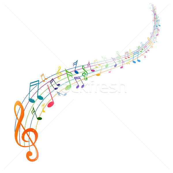 Vector Music Background Stock photo © RamonaKaulitzki