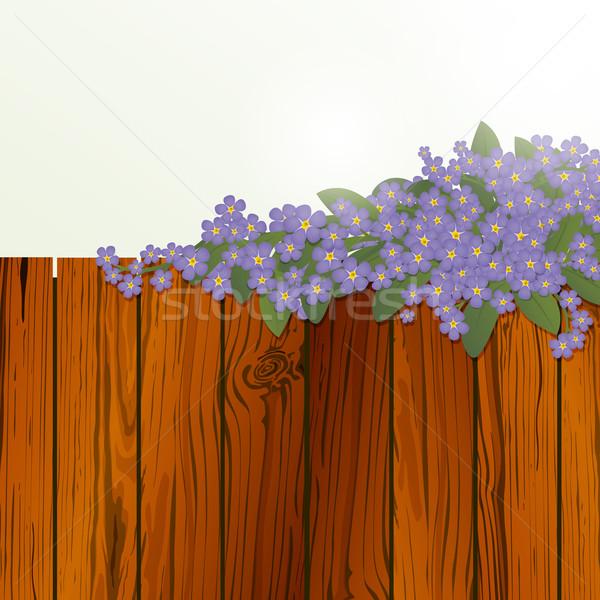Vector Nature Background Stock photo © RamonaKaulitzki