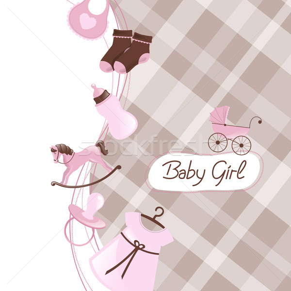 вектора ребенка душу ребенка дизайна матери Сток-фото © RamonaKaulitzki