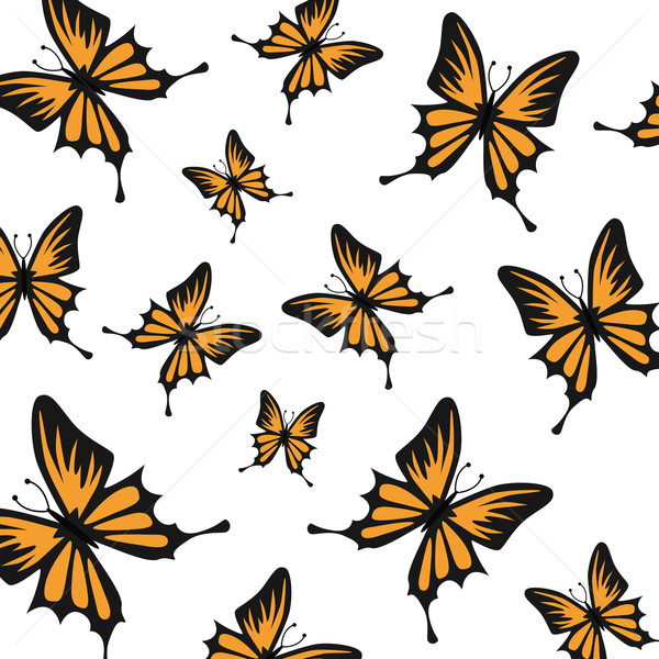 вектора бабочка декоративный бабочки природы тело Сток-фото © RamonaKaulitzki