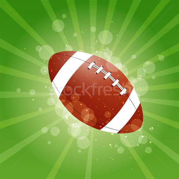 Vector voetbal achtergrond teken team zwarte Stockfoto © RamonaKaulitzki