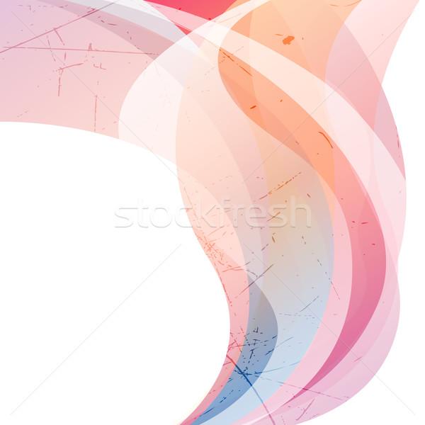 Soyut vektör arka plan sanat web dijital Stok fotoğraf © RamonaKaulitzki