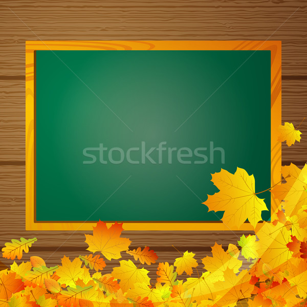 вектора доске текстуры школы кадр Сток-фото © RamonaKaulitzki