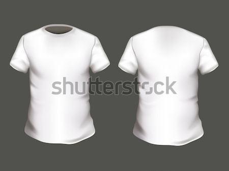 Vector T-shirts Stock photo © RamonaKaulitzki