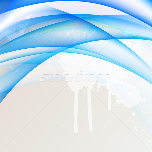 аннотация вектора веб цифровой шаблон Идея Сток-фото © RamonaKaulitzki