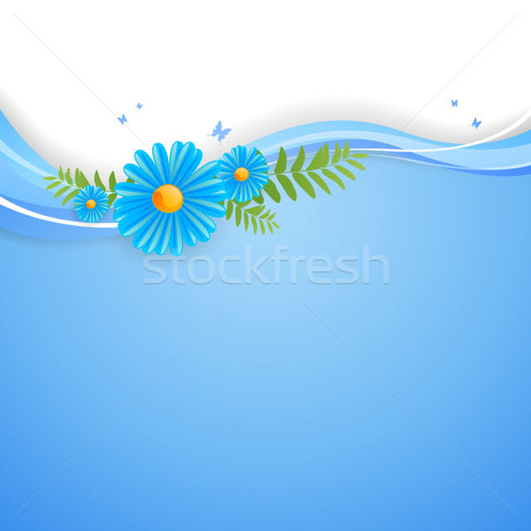 Floral Vector Background Stock photo © RamonaKaulitzki