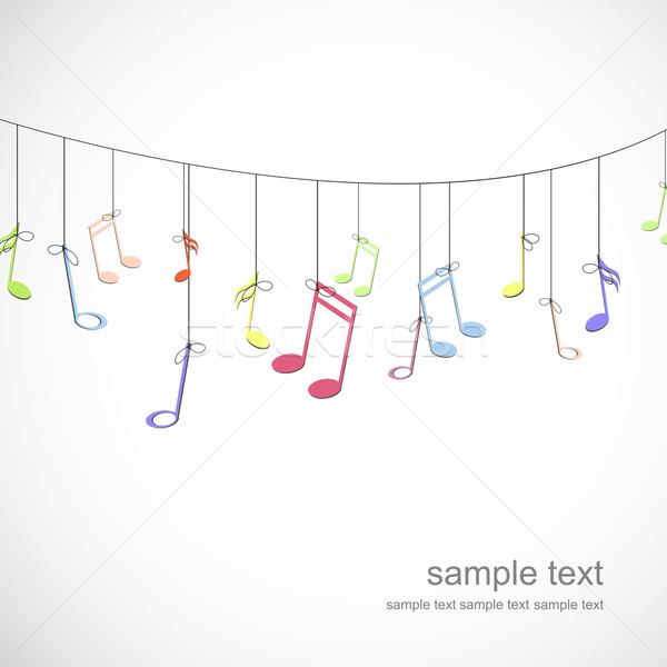 Stock photo: Vector Music Background