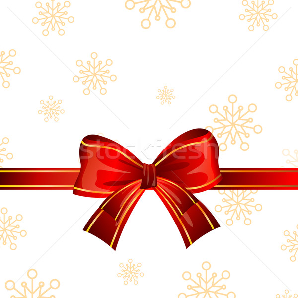 Stock photo: Vector Gift Ribbon