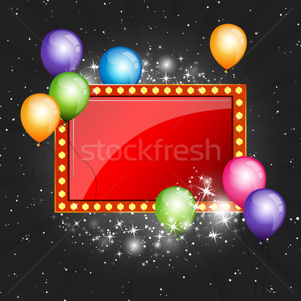 Vector Party BAckground Stock photo © RamonaKaulitzki