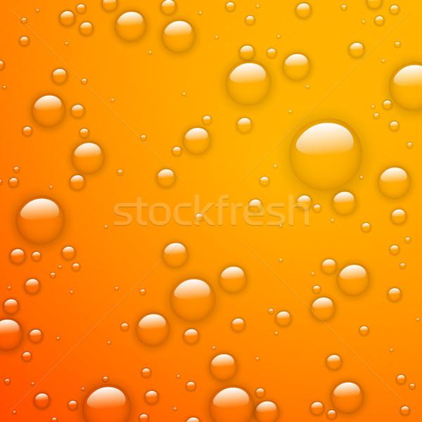Vector Water Drops Stock photo © RamonaKaulitzki