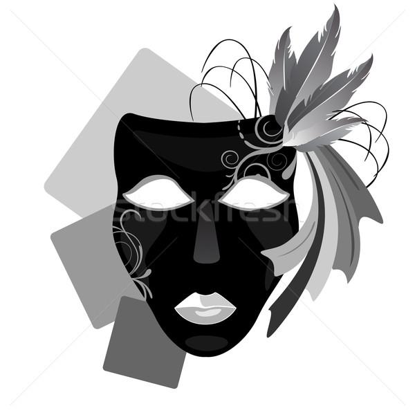 ベクトル マスク カーニバル パーティ 美 ストックフォト © RamonaKaulitzki
