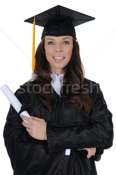 女性 大学院 幸せ 大学 ストックフォト © RandallReedPhoto