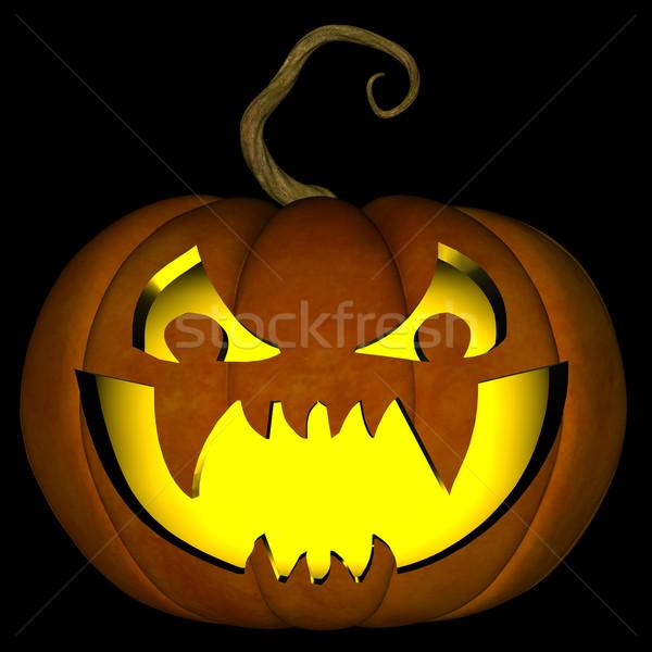 Halloween Jack O Lantern 01 Stock photo © RandallReedPhoto
