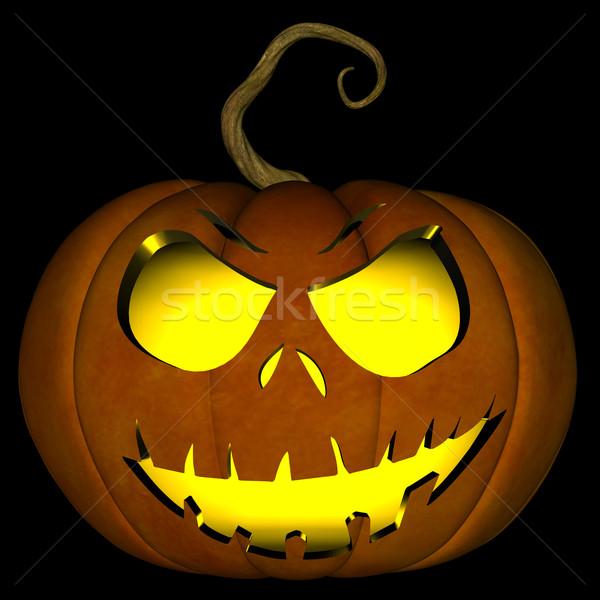 Halloween Jack O Lantern 05 Stock photo © RandallReedPhoto