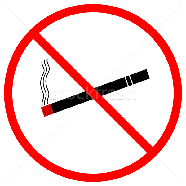No Smoking Sign Stock photo © RandallReedPhoto