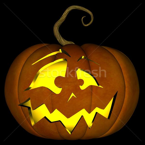 Halloween Jack O Lantern 07 Stock photo © RandallReedPhoto