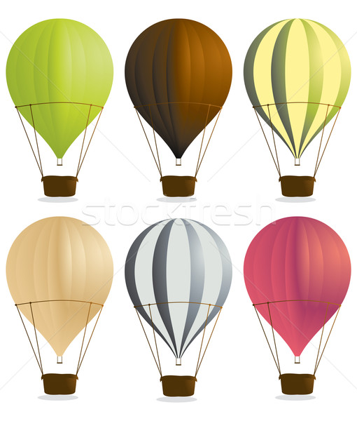 Hot air balloons 2 Stock photo © randomway