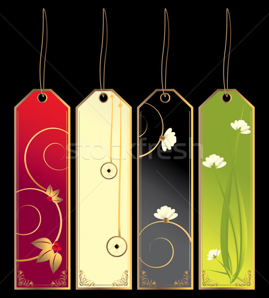 Bookmark tags Stock photo © randomway