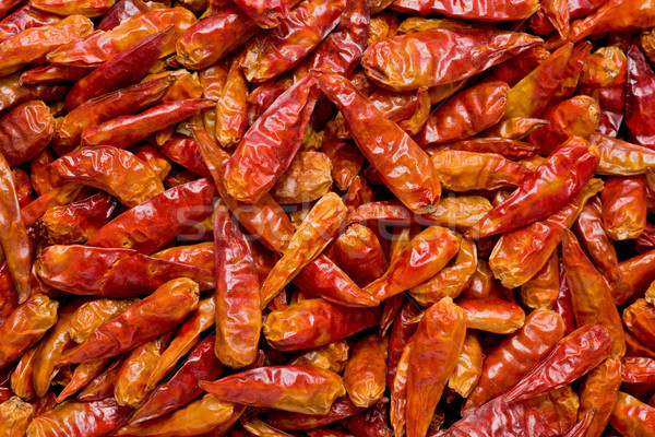 Dried Chilis Stock photo © raptorcaptor