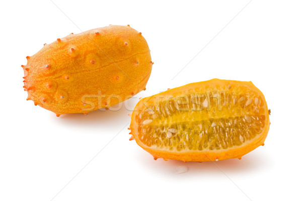 Horned Melon (Cucumis metuliferus) Stock photo © raptorcaptor