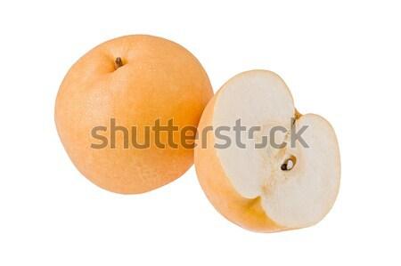 Asia pera todo manzana blanco Foto stock © raptorcaptor
