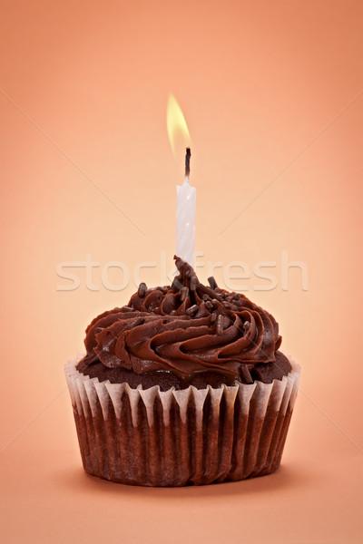 Chocolate Cupcake Stock photo © raptorcaptor