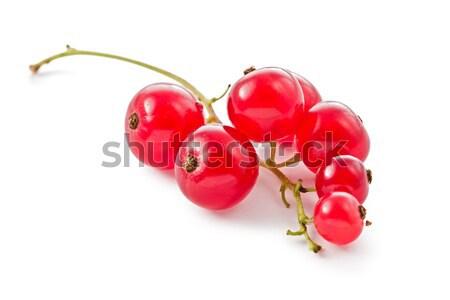 Rood voedsel vruchten witte object Stockfoto © raptorcaptor