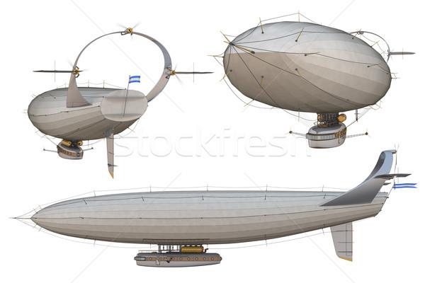 Airship Stock photo © raptorcaptor
