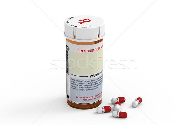 Prescription Bottle Stock photo © raptorcaptor