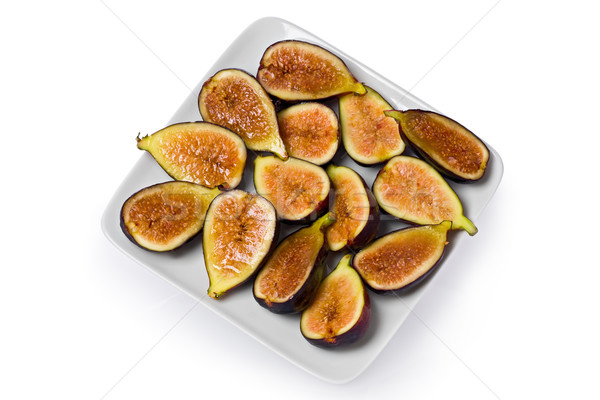 Black Mission Figs Stock photo © raptorcaptor