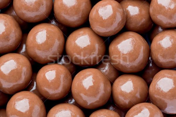 Chocolade mout textuur melk achtergrond Stockfoto © raptorcaptor