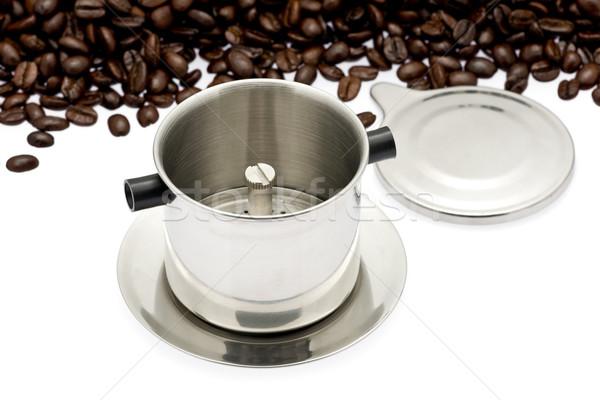 フランス語 コーヒー 伝統的に 中古 ストックフォト © raptorcaptor