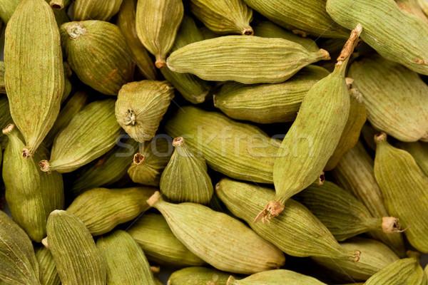 緑 カルダモン テクスチャ 食品 背景 料理 ストックフォト © raptorcaptor