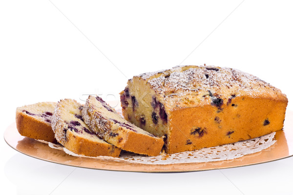 Blueberry Cornmeal Loaf Stock photo © raptorcaptor