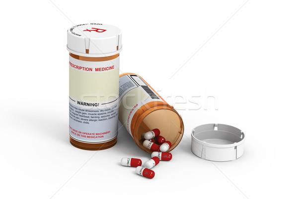 Prescription Bottles Stock photo © raptorcaptor