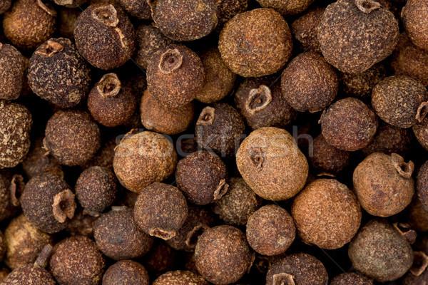 Stok fotoğraf: Bütün · doku · arka · plan · pişirme · makro · baharat