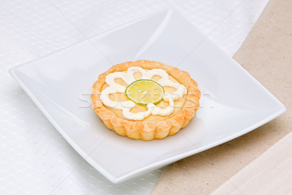 Clave cal pie aperitivo placa alimentos Foto stock © raptorcaptor